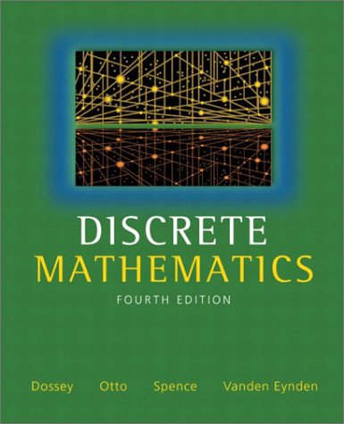 9780321079121: Discrete Mathematics (4th Edition)