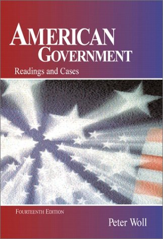 9780321079992: American Government: Readings and Cases (14th Edition)