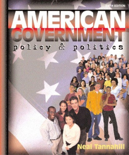 9780321080011: American Government: Policy and Politics