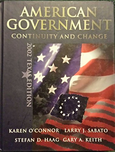 9780321080578: American Government: Continuity and Change