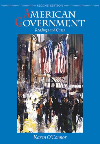 9780321080585: American Government: Readings and Cases (2nd Edition)