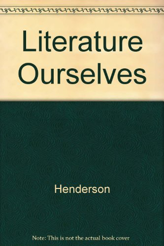 9780321080851: Literature Ourselves