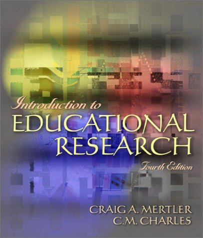 9780321081759: Introduction to Educational Research (4th Edition)