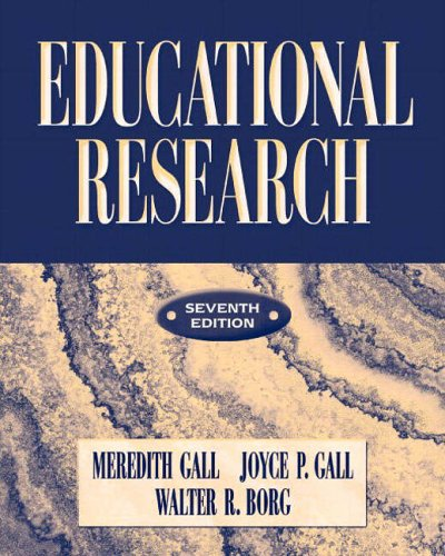 9780321081896: Educational Research: An Introduction