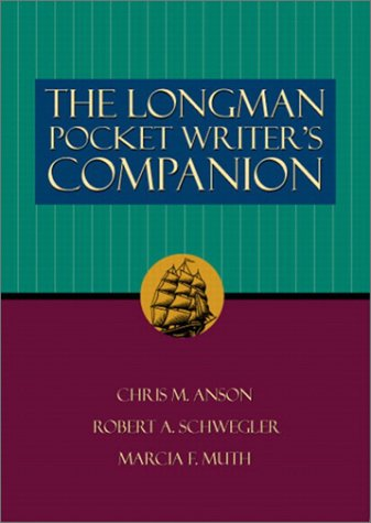 9780321083913: The Longman Pocket Writer's Companion