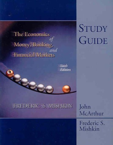 9780321085429: Study Guide for Economics of Money, Banking and the Financial Market