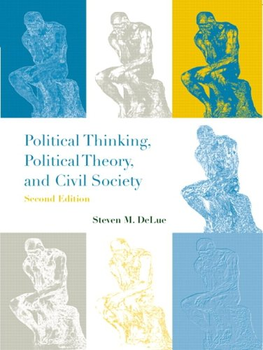 9780321085597: Political Thinking, Political Theory, and Civil Society (2nd Edition)
