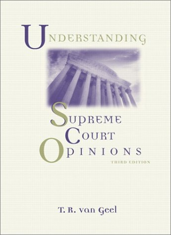 9780321085931: Understanding Supreme Court Opinions (3rd Edition)