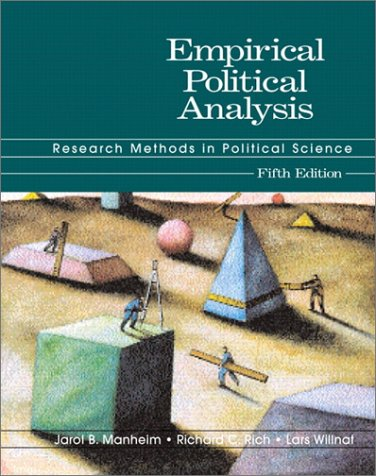9780321086143: Empirical Political Analysis: Research Methods in Political Science (5th Edition)
