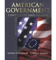 9780321086709: American Government 2002: Continuity and Change