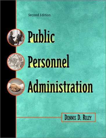 9780321087508: Public Personnel Administration (2nd Edition)