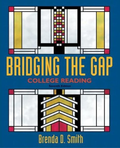 9780321088260: Bridging the Gap: College Reading (7th Edition)