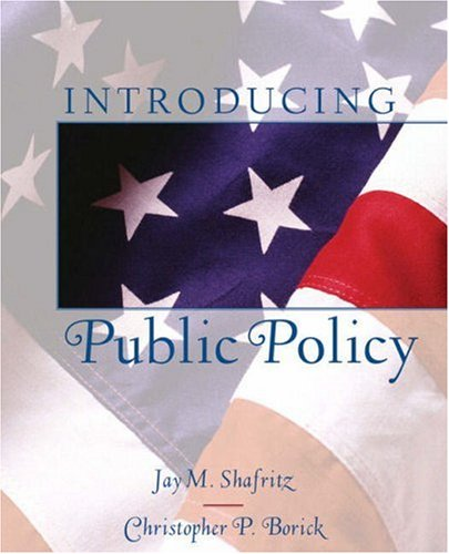 9780321088833: Introducing Public Policy