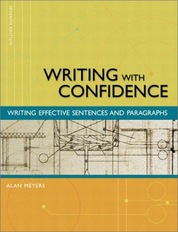 9780321089151: Writing with Confidence: Writing Effective Sentences and Paragraphs