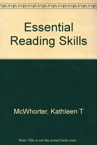 9780321089625: Essential Reading Skills