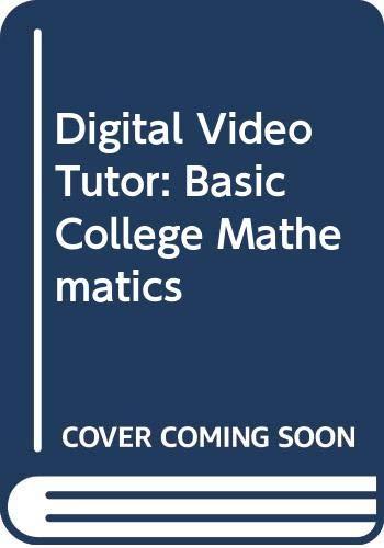 9780321090898: Digital Video Tutor: Basic College Mathematics