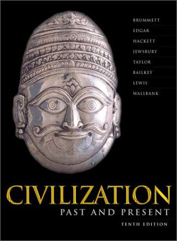 9780321090904: Civilization Past & Present, Single Volume (10th Edition)