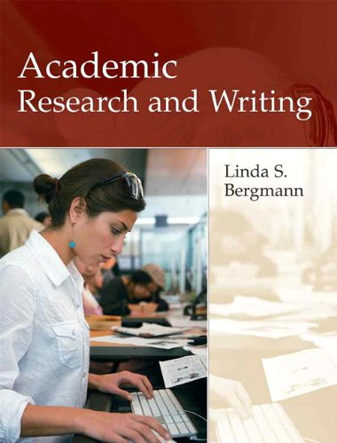 9780321091840: Academic Research and Writing: Inquiry and Argument in College