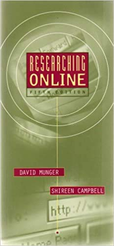 9780321092779: Researching Online