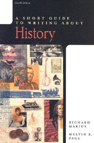 9780321093004: A Short Guide to Writing About History, 4th Edition