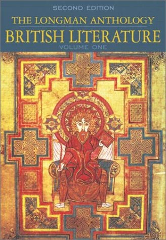 9780321093882: The Longman Anthology of British Literature, Volume 1: Middle Ages to The Restoration and the 18th Century