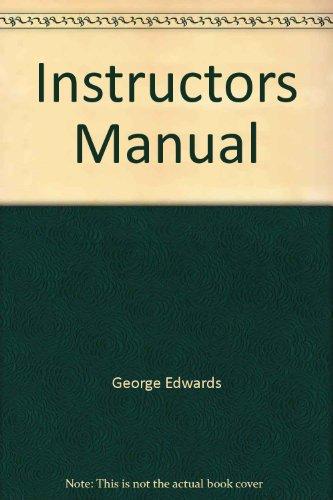 9780321093912: Instructors Manual