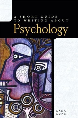 9780321094247: A Short Guide to Writing About Psychology