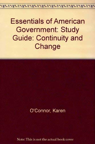 9780321094292: Essentials of American Government: Continuity and Change