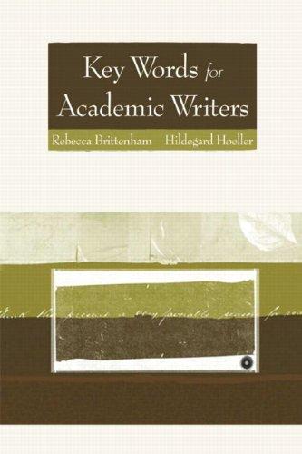 Key Words for Academic Writers: Rebecca Brittenham, Hildegard