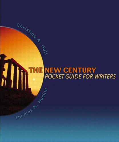 9780321094605: The New Century Pocket Guide for Writers