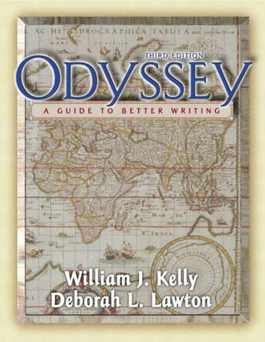 9780321096272: Odyssey : A Guide to Better Writing Annotated Instructor's Edition