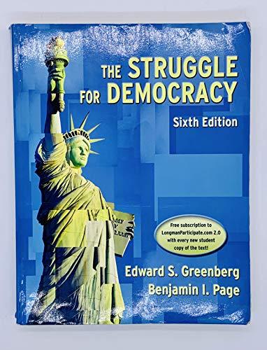 9780321097019: The Struggle for Democracy