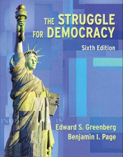9780321097033: The Struggle for Democracy