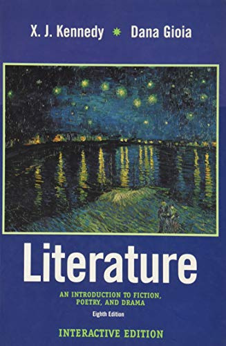 9780321097149: Literature: An Introduction to Fiction, Poetry and Drama (Interactive Edition with CD-ROM) (8th Edition)
