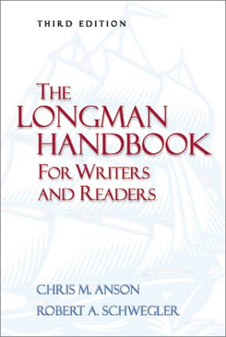 9780321097248: The Longman Handbook for Writers and Readers (3rd Edition)