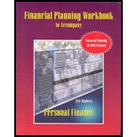 Personal Finance-Financial Planning Workbook / With CD-ROM: Jeff Madura