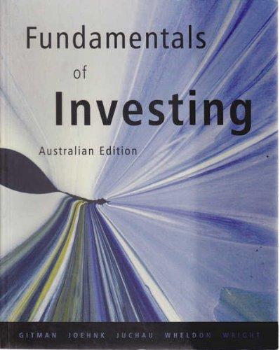9780321097552: Fundamentals of Investing