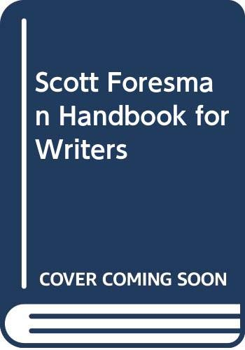 Scott Foresman Handbook for Writers (0321103157) by Hairston, Maxine; Ruszkiewicz, John J.
