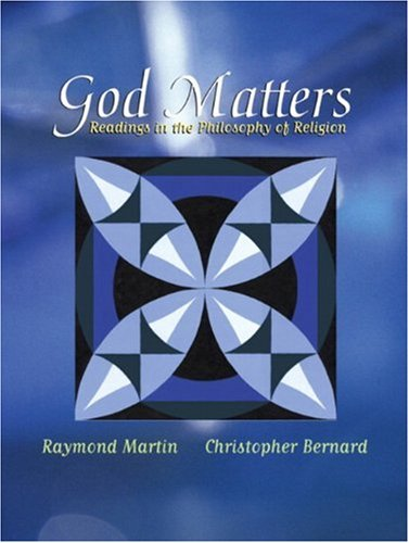 9780321103659: God Matters: Readings in the Philosophy of Religion