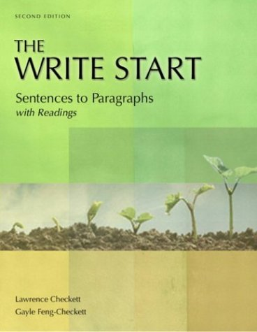 9780321103819: The Write Start: Sentences to Paragraphs, with Readings, Second Edition