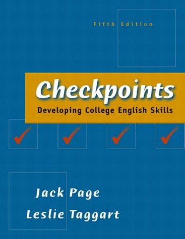 9780321103857: Checkpoints: Developing College English Skills (5th Edition)