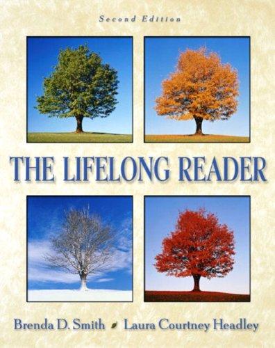 The Lifelong Reader: Brenda D. Smith;