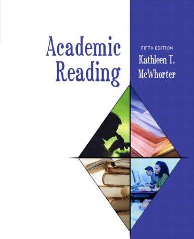 9780321104243: Academic Reading