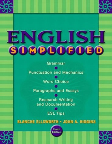 9780321104298: English Simplified, 10th Edition