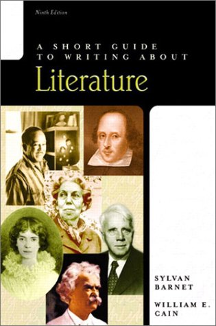 9780321104762: A Short Guide to Writing about Literature (9th Edition)