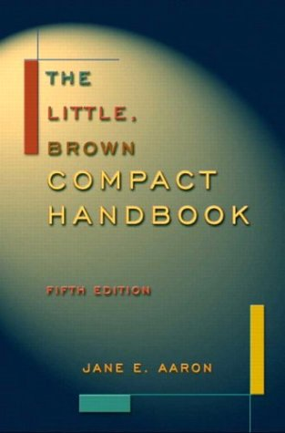 9780321104953: The Little, Brown Compact Handbook, Fifth Edition