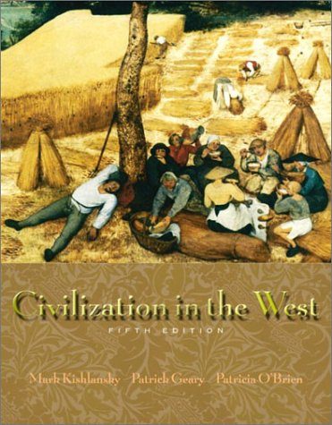9780321105004: Civilization in the West, Single Volume Edition (5th Edition)