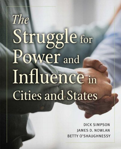 9780321105189: The Struggle for Power and Influence in Cities and States