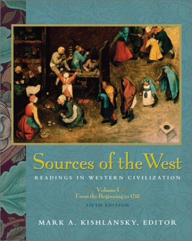 9780321105509: Sources of the West: Readings in Western Civilization, Volume I (5th Edition)