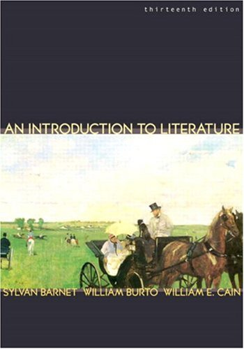 9780321105707: Introduction to Literature,An (13th Edition)
